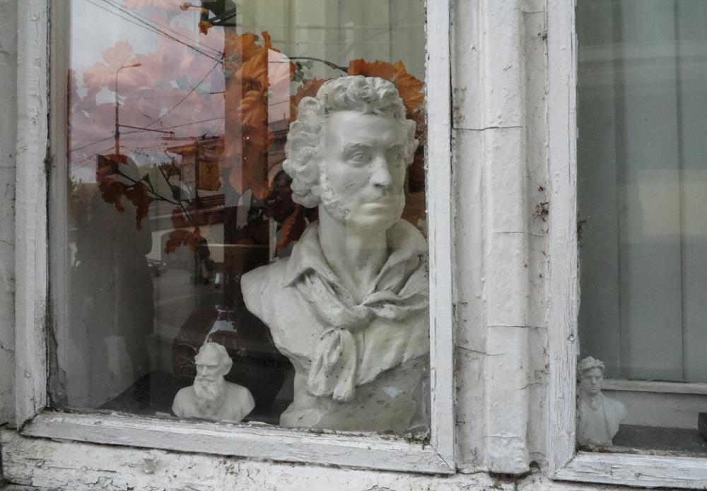 Tolstoj, Poesjkin, Majakovski