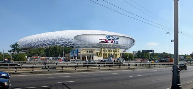 Erick van Egeraat Dinamo Moskou architectuur station renovatie