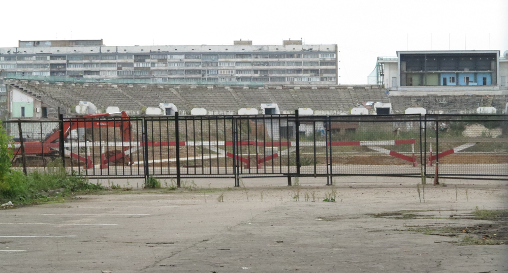 verbouwing stadion Dinamo Moskou