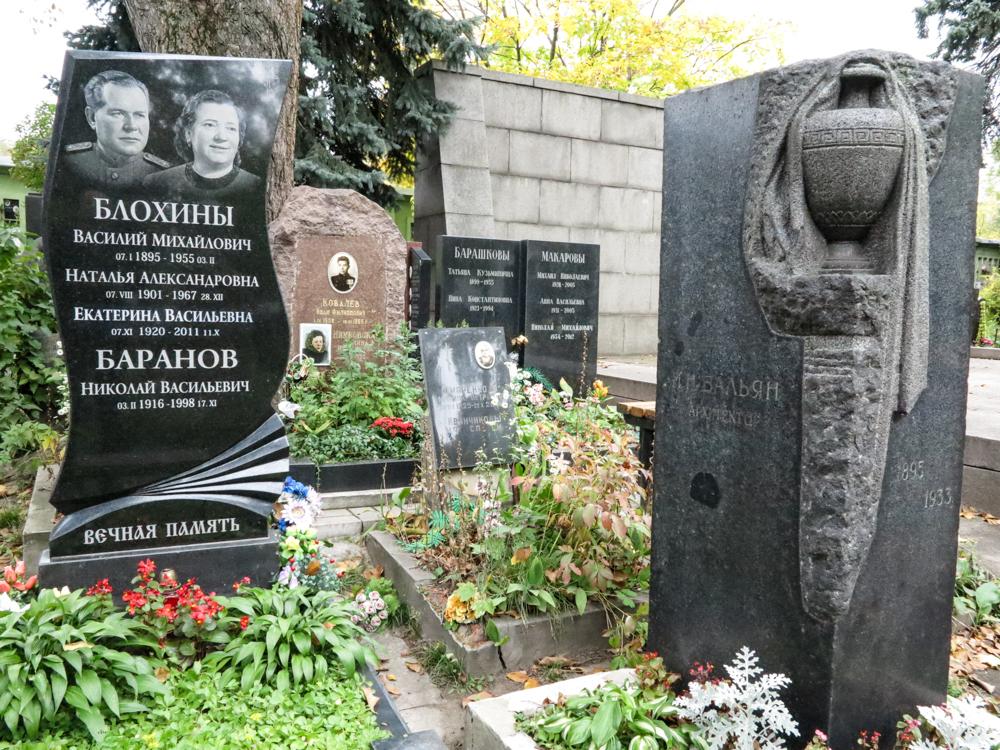 Blokhin Blochin Donskoi Goelag Stalin Moskou begraafplaats