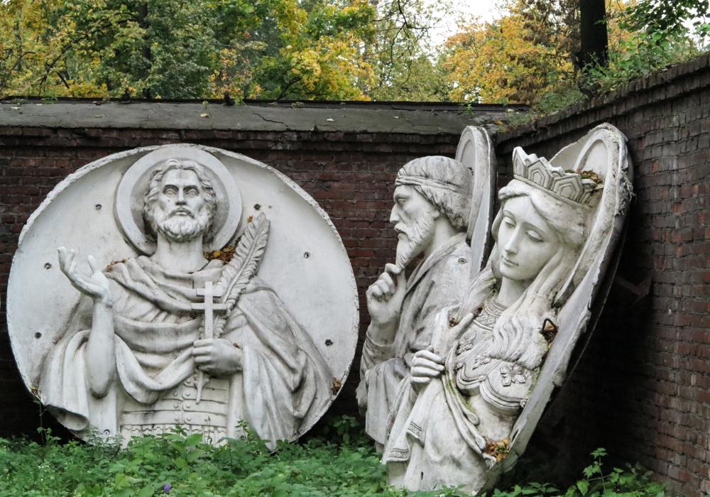 Donskoj klooster begraafplaats Moskou
