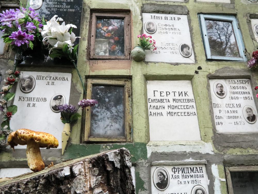 paddestoel begraafplaats Rusland Moskou