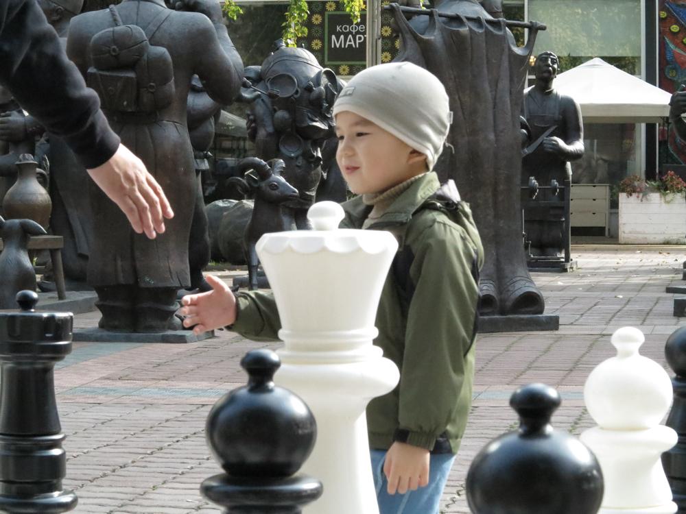 schaken museum moderne kunst Moskou
