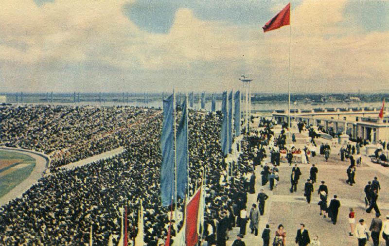 1957 Kirov Stadion Leningrad
