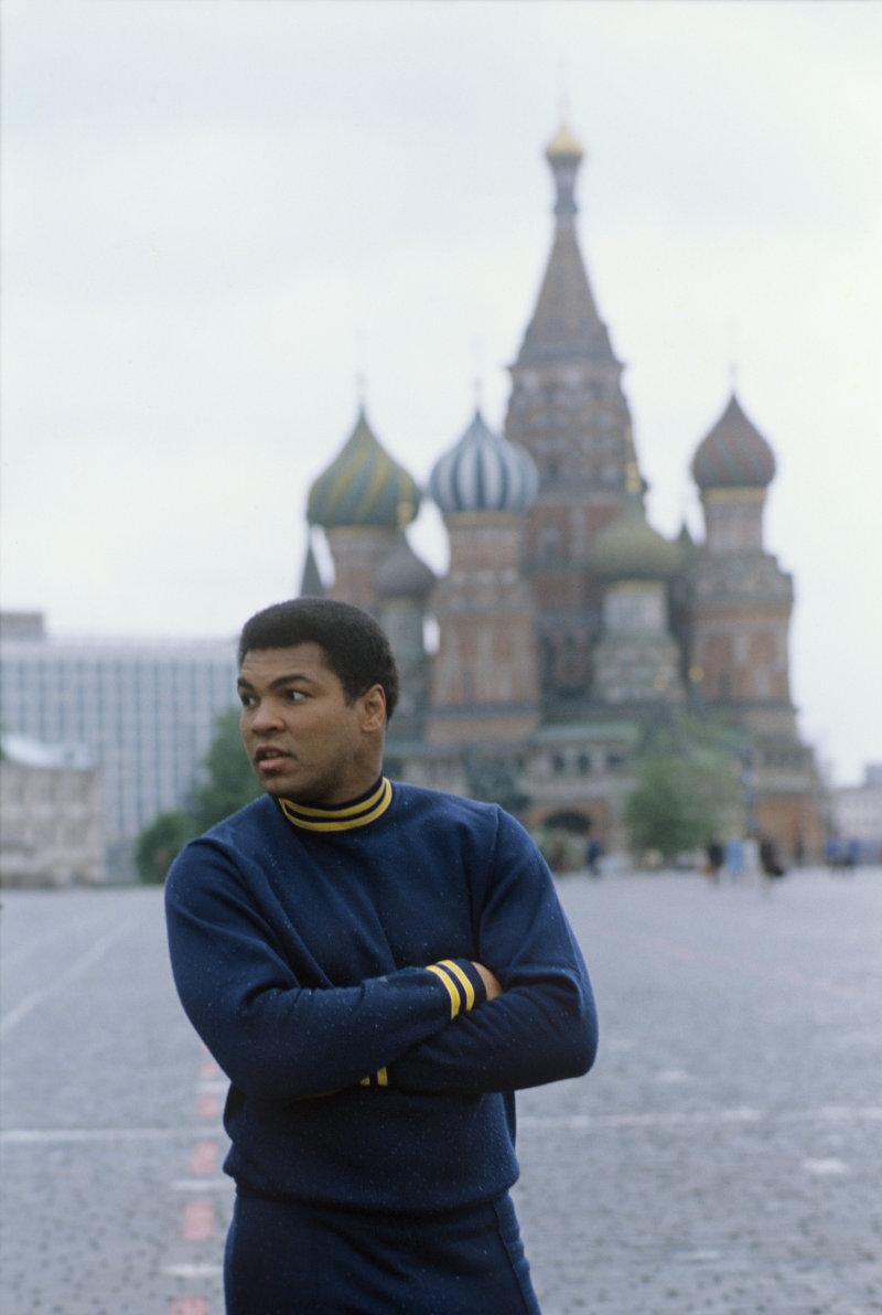 Muhammed Ali op het Rode Plein