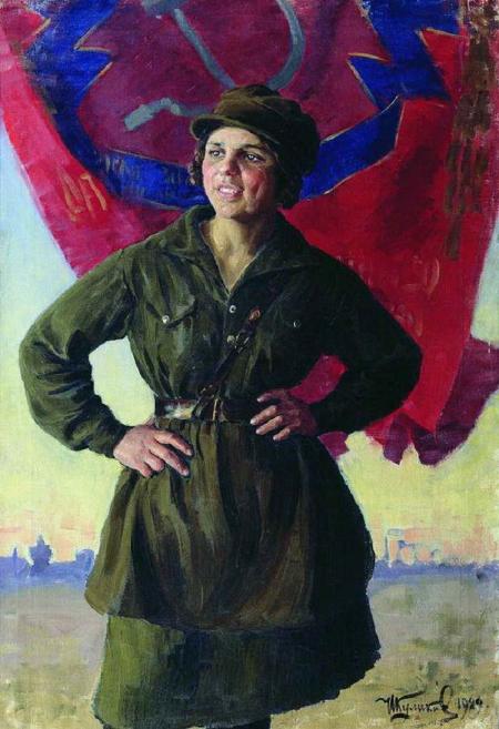 Koelikov socialistisch realisme schilderkunst Sovjetunie