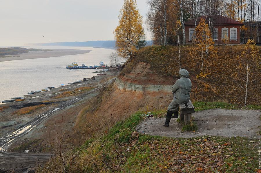 foto's herfst Russische noorden