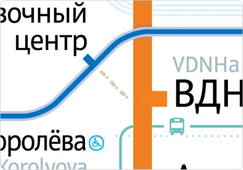 kaart plattegrond Moskouse metro Moskou design ontwerp Studio Lebedev