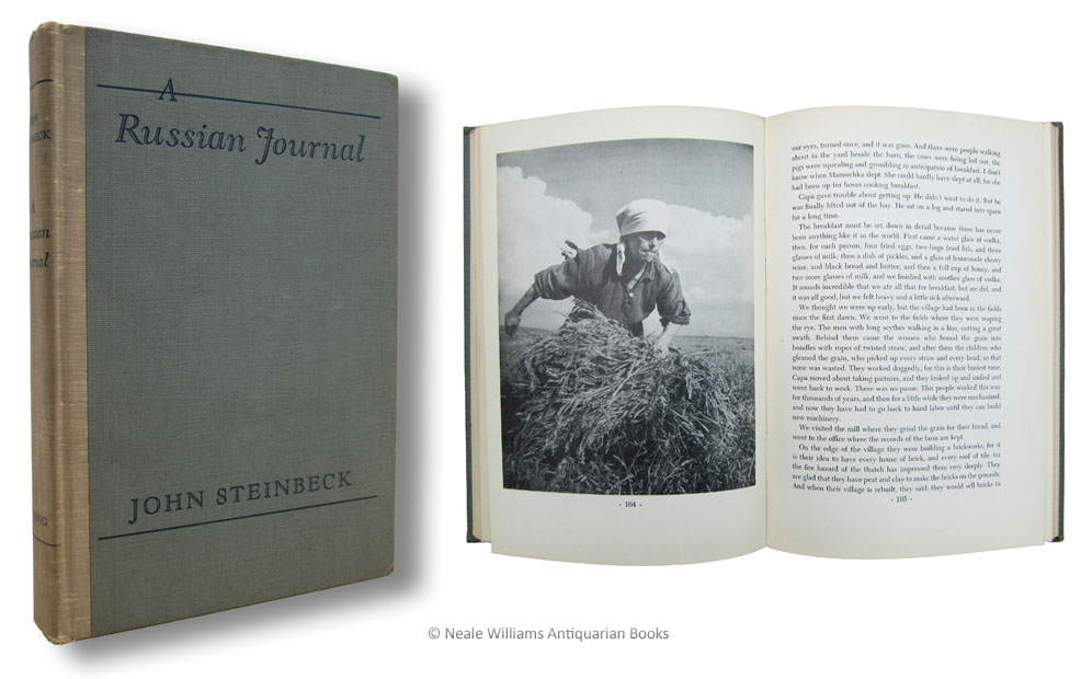 Robert Capa Steinbeck A Russian Journal