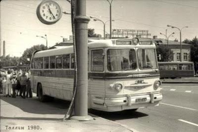 ZiL Sovjetunie bussen Ligatsjov