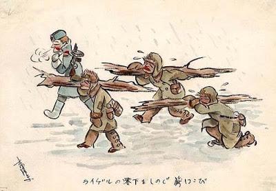 Japanse krijgsgevangenen tekeningen Kiuchi Nobuo kampen dwangarbeid