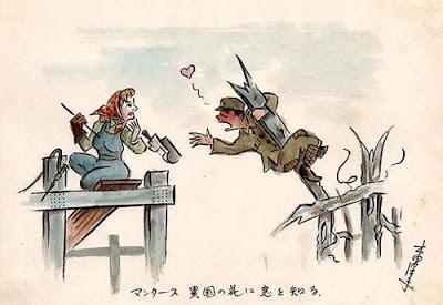 Japanse soldaten krijgsgevangen Rusland lokale bevolking dwangarbeid