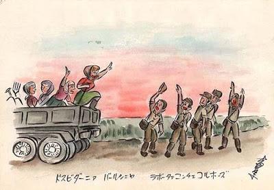 Japanse krijgsgevangen Rusland Sovjetunie 1956