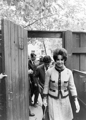 Taylor Moscow 1961 filmfestival Gina Lollobrigida