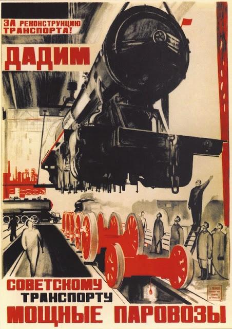 posters propaganda Sovjetunie