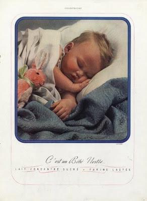 C'est un Bébé Nestlé Proedin-Gorski reclamefotografie Rusland Parijs Frankrijk