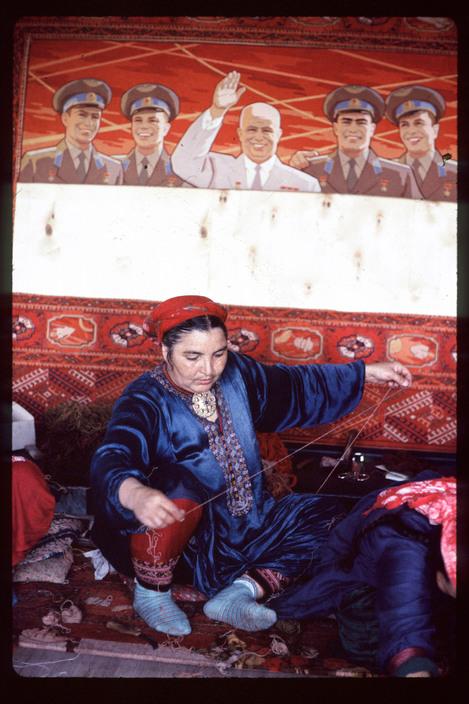 Chroesjtsjov Boechara tapijten Gagarin
