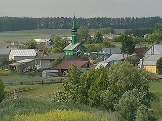 Russische provincie dorpen