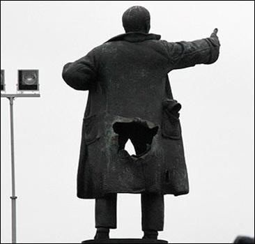 Lenin voor het Finlandstation, 2009