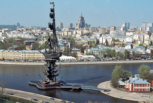 Tsereteli Peter de Grote Moskou