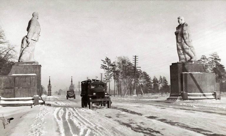 Studebaker. Moskou, 1947