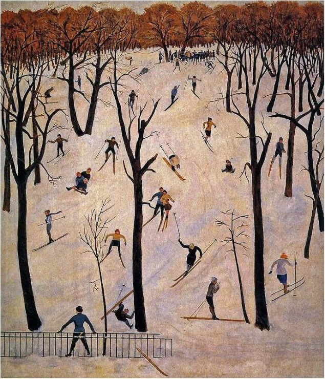 Skiërs (jaren twintig?)