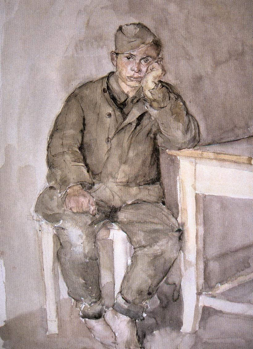 Heribert Losert - Junge russischer Gefangener