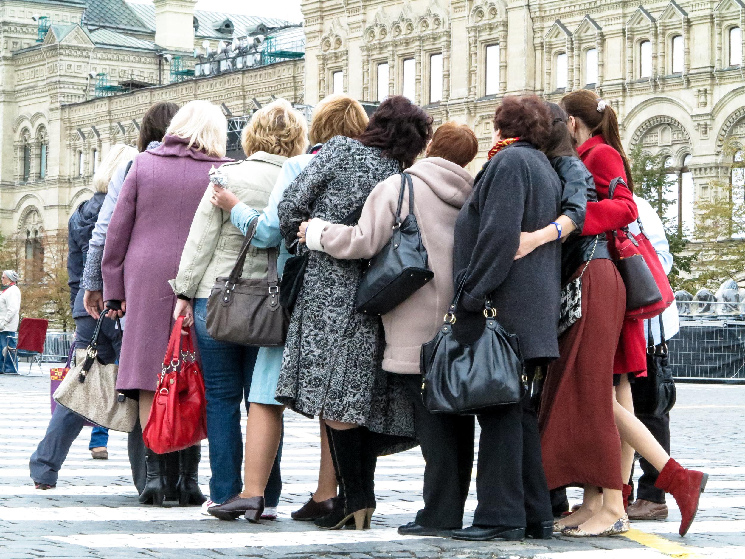 Moskou Russische mode Rode Plein