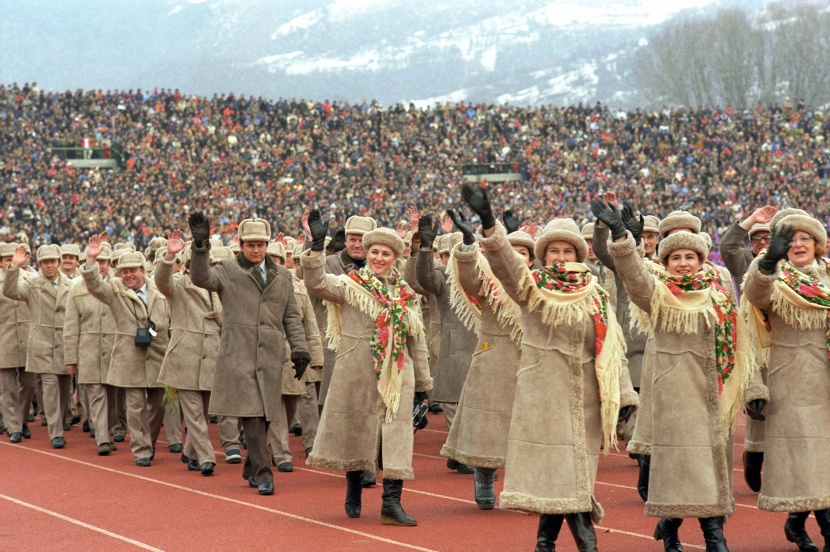 Vjatsjeslav Zajtsev Sarajevo Sovjetunie Olympische Spelen