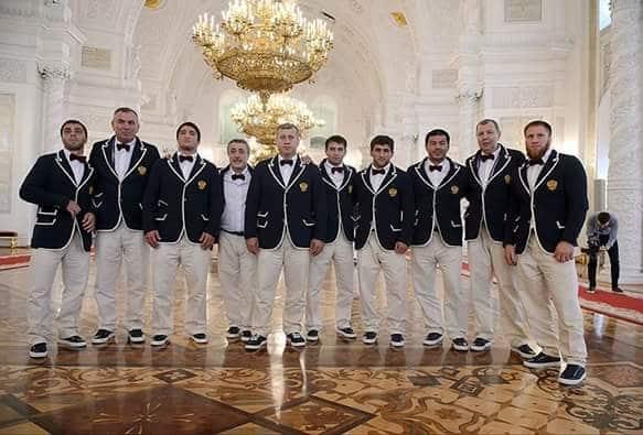 kleding Russische sporters Rio de Janeiro
