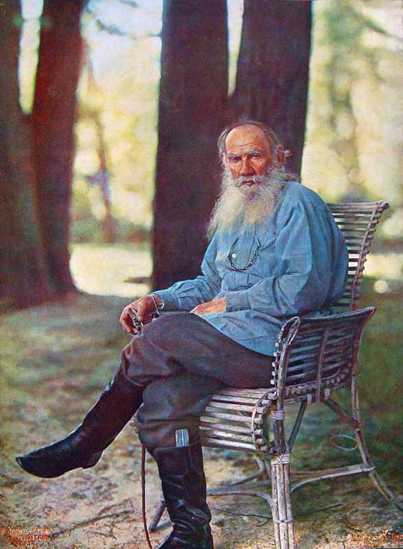 Lev Tolstoj, 1908. Foto: S. Prokoedin-Gorski
