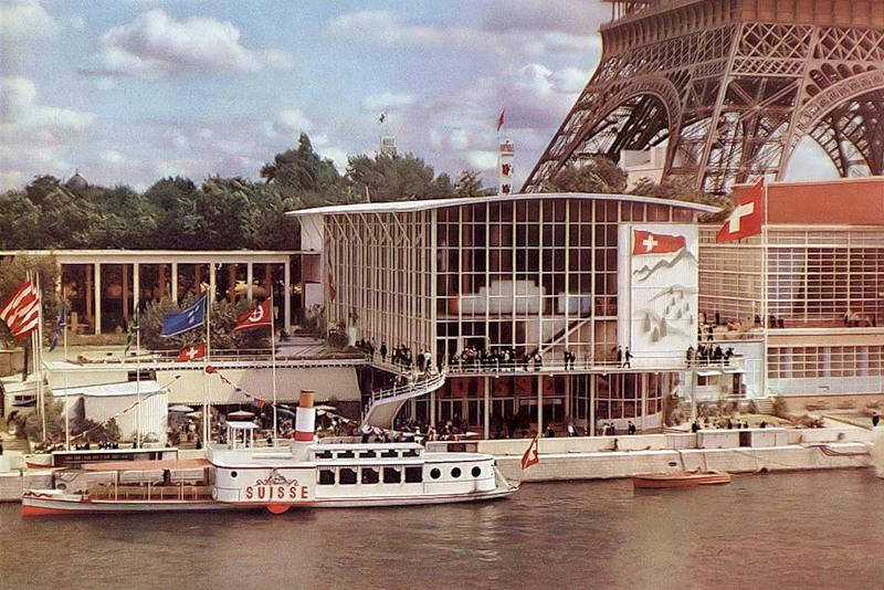 Het paviljoen van Zwitserland - Wereldtentoonstelling Parijs, 1937