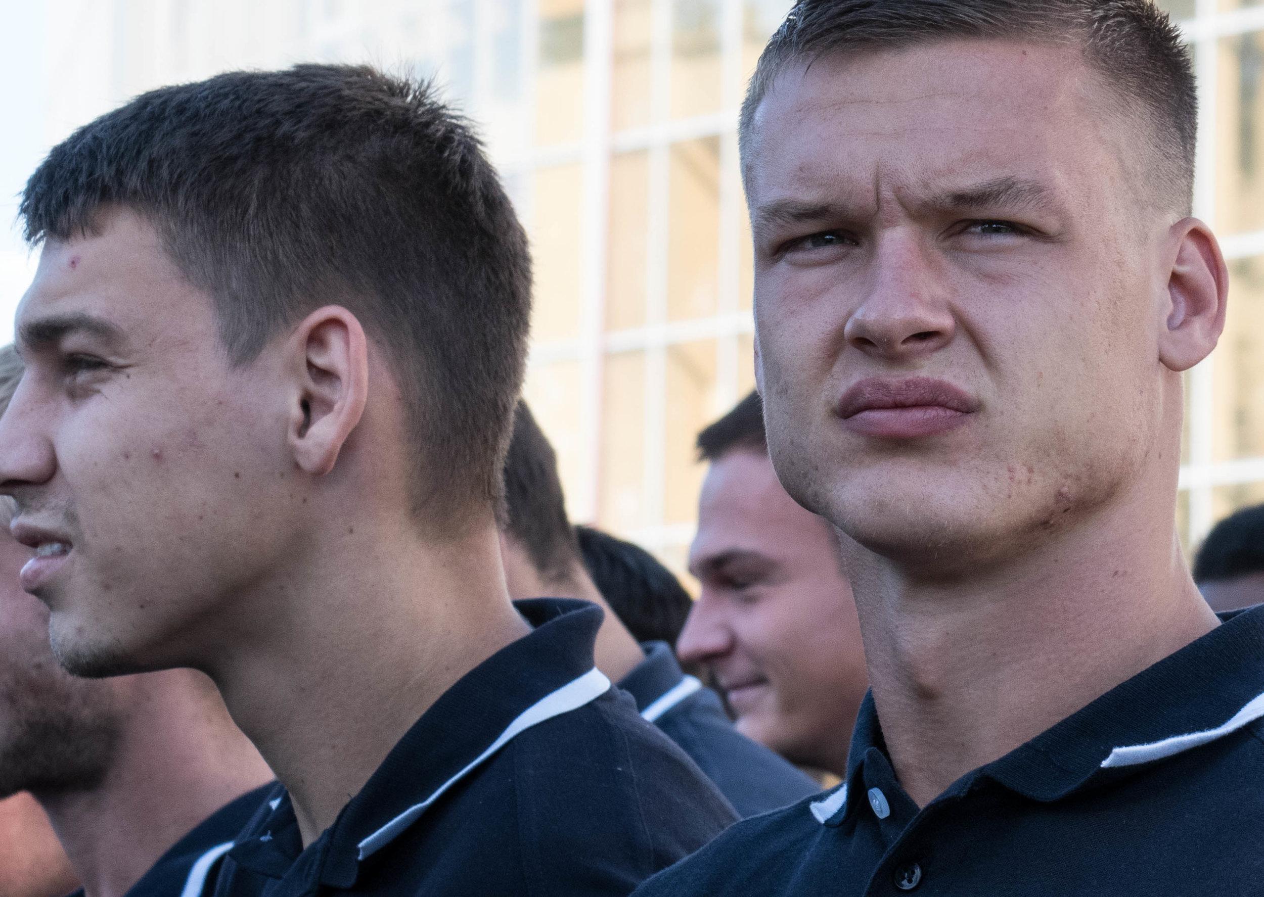Pjotr Pereverza en Aleksej Goblenko