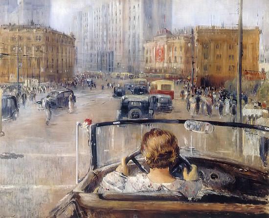 Joeri Pimenov: Nieuw Moskou