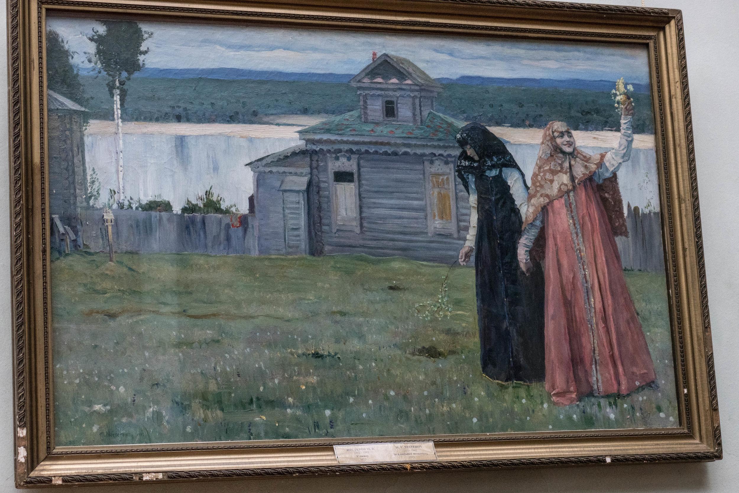 Michail Nesterov: In het klooster