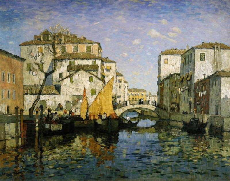 Konstantin Gorbatov Venetië