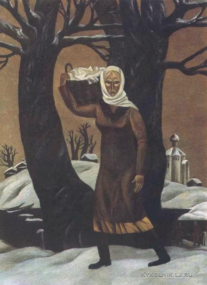 Anatoli Koelinitsj - De wasvrouw (1982)