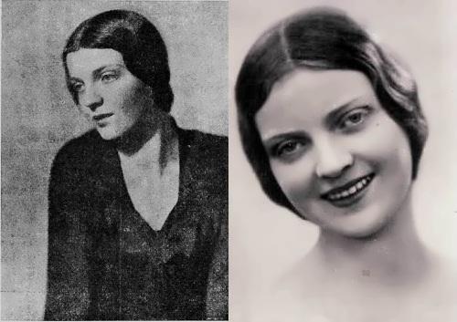 1931 - Marija Sjalapina (dochter van Fjodor Sjalapina)