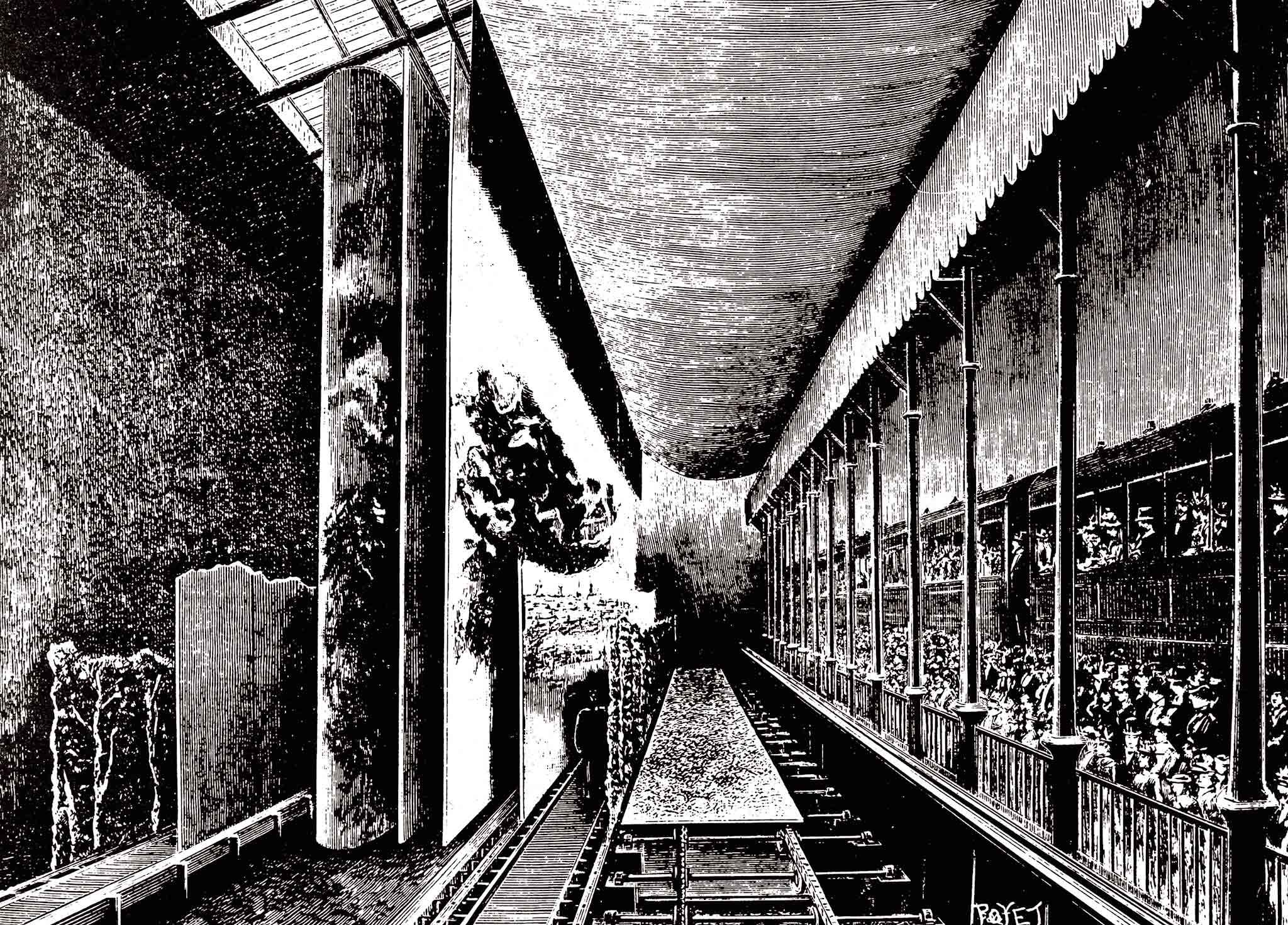 Het panorama van Wagons-Lits