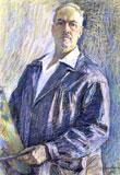 Vsevolod Tsympakov: Zelfportret (Museum Loegansk)