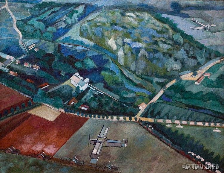 Vliegtuigen. Zaaien vanuit de lucht (1931)