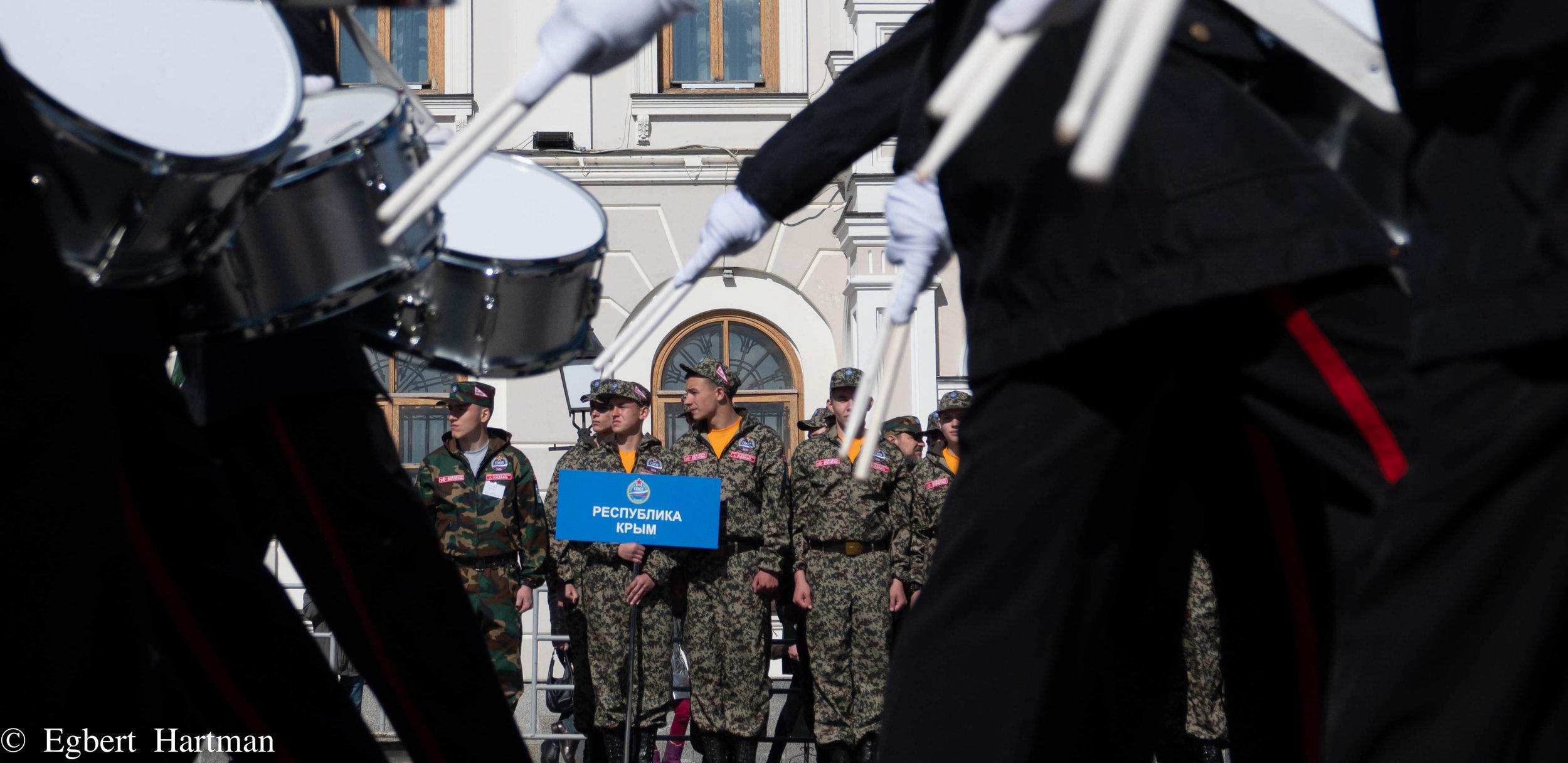De Afdeling Krim was ook gekomen.