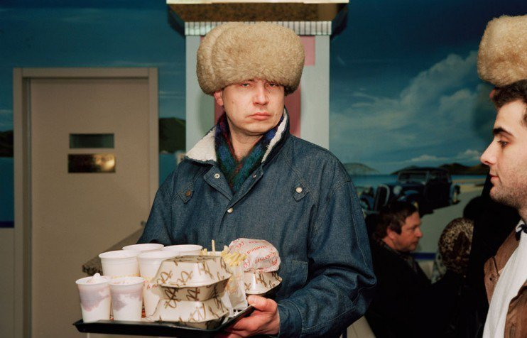McDonalds opening in Moscow