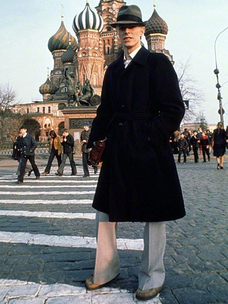 David Bowie on Red Square, 1976