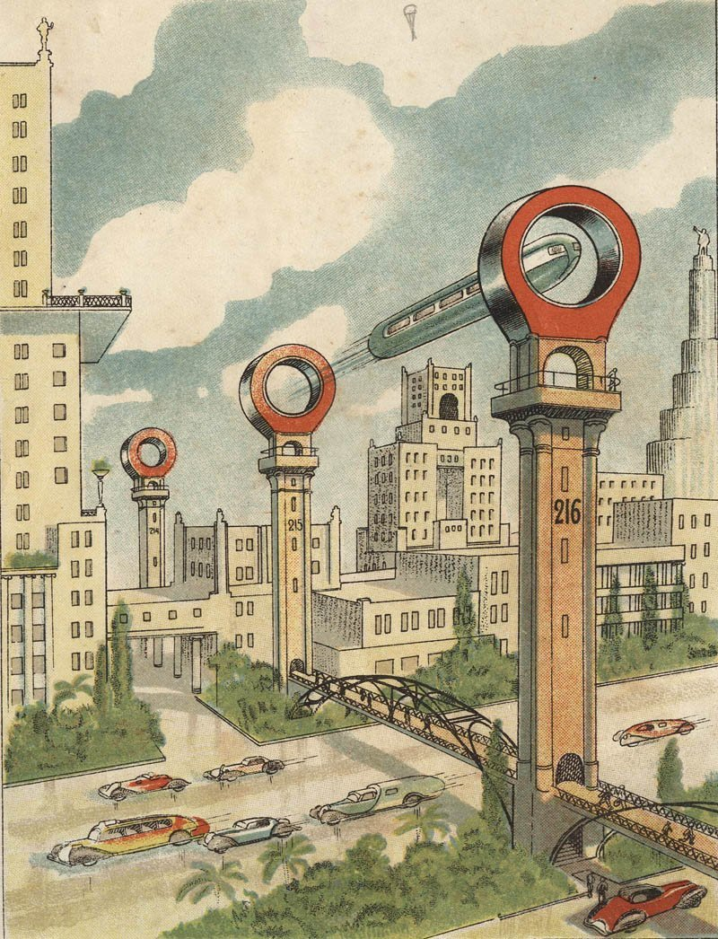 Soviet vision of the future in the 1930's.