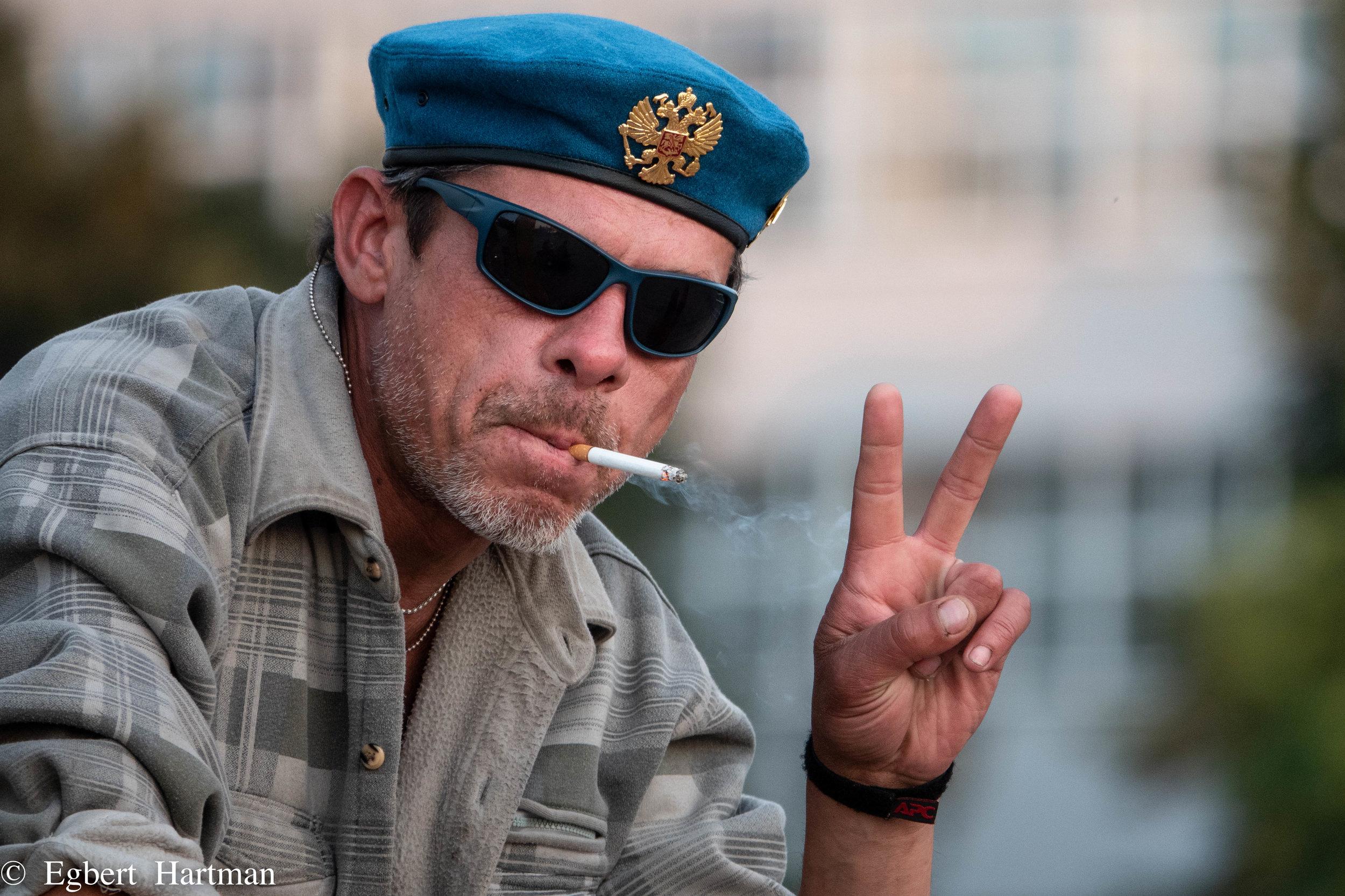 Jekaterinburg (Deze Vrolijke Frans komt in onderstaand stukje niet voor. Ik had helaas geen foto voorradig van de hoofdpersoon - wel een filmpje.)