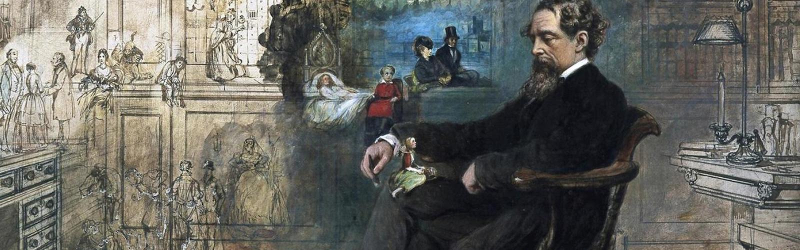 Robert William Buss – Dickens' Dream (uitleg onderaan)