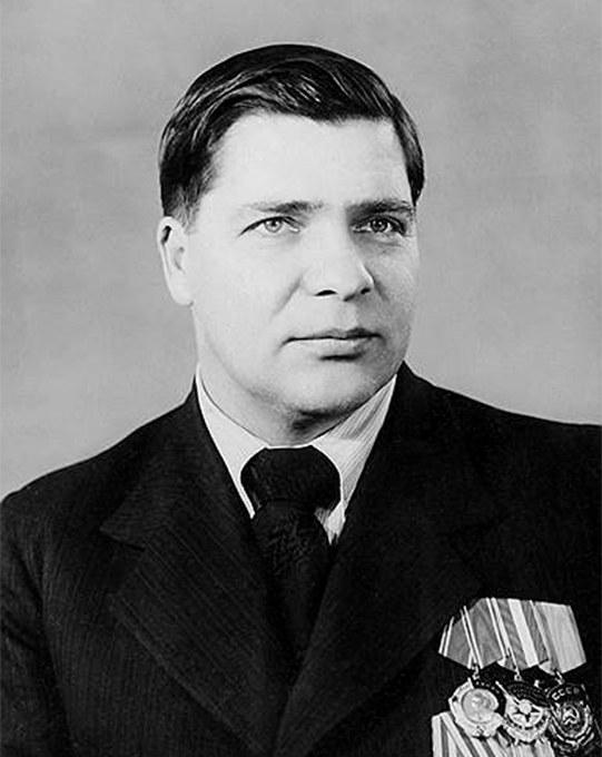 Visserij-minister Isjkov