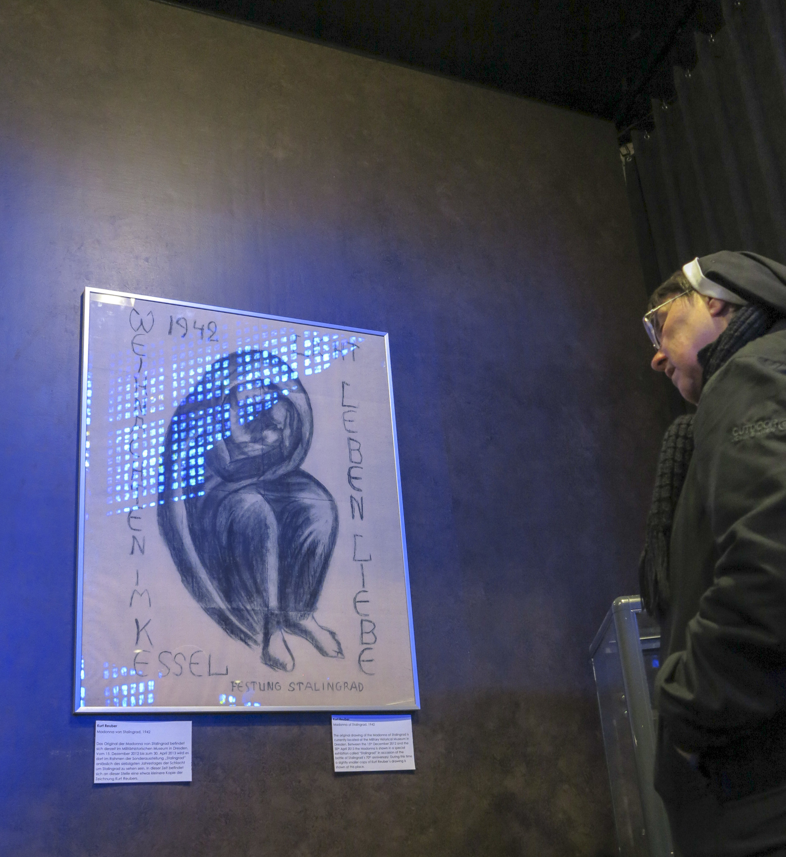 De Madonna van Stalingrad in Berlijn