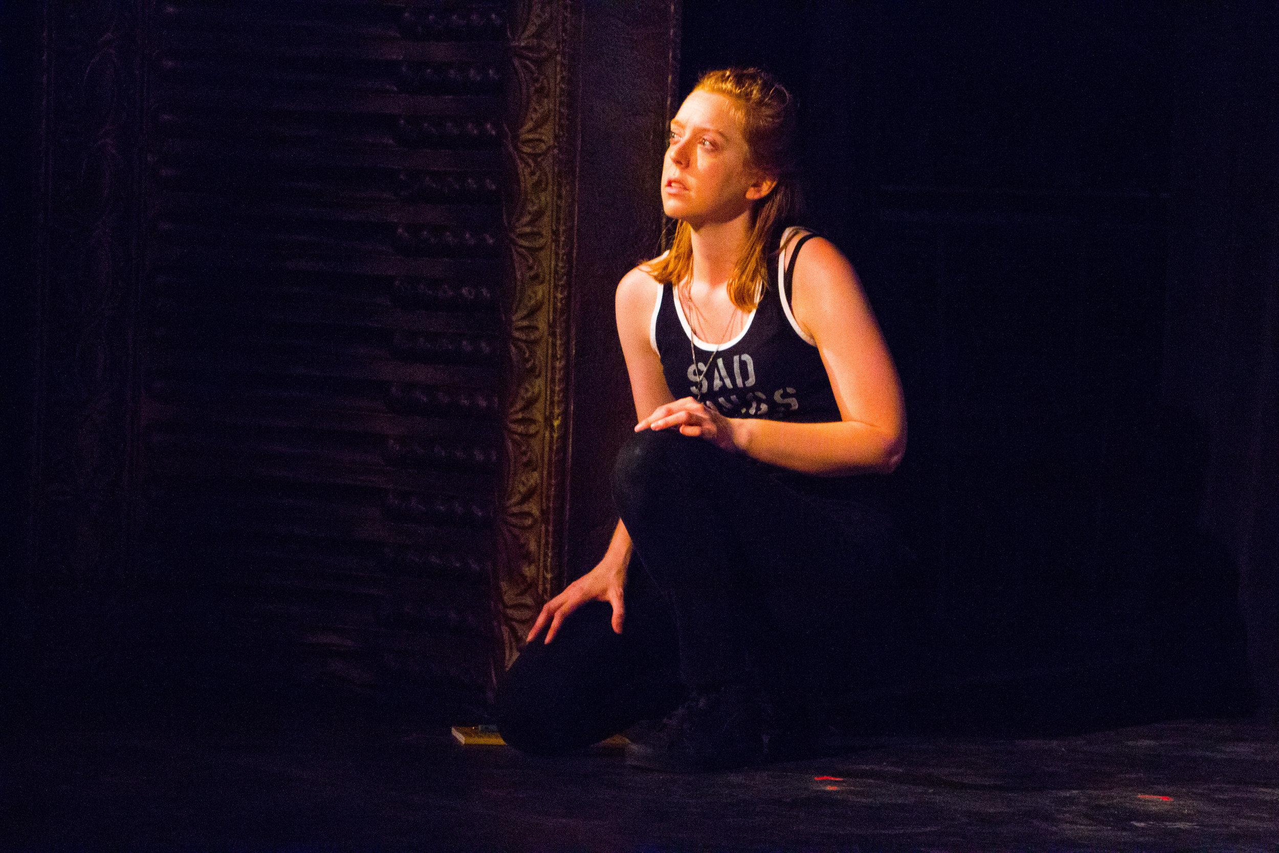 Blair Baker as HAMLET